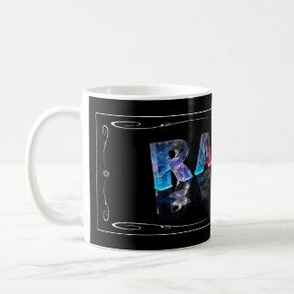 The Name Ralph in 3D Lights (Photograph) Coffee Mug