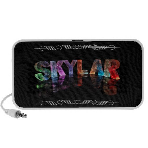 The Name Skylar -  Name in Lights (Photograph) Speakers
