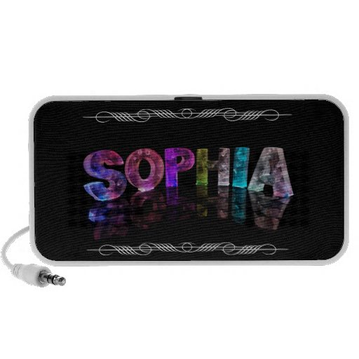 The Name Sophia -  Name in Lights (Photograph) Mp3 Speakers