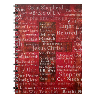 The Names of Jesus Christ From the Bible Notebook