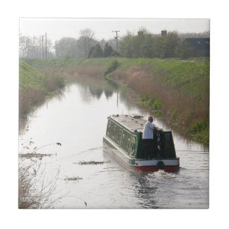 THE NARROW BOAT SMALL SQUARE TILE