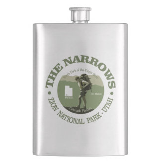 The Narrows Hip Flask