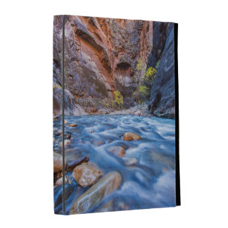 The Narrows Of The Virgin River In Autumn 3 iPad Folio Cases