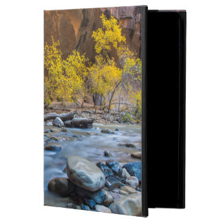 The Narrows Of The Virgin River In Autumn iPad Air Case