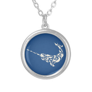The Narwhal of Narwhals Silver Plated Necklace