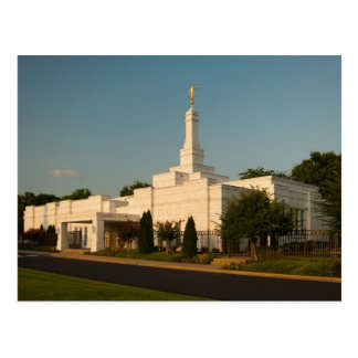 The Nashville Tennessee LDS Temple Postcard