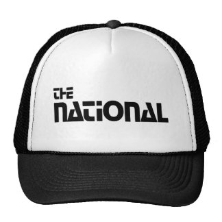 The National - 1980 promo graphic Cap