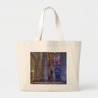 The National Cathedral Jumbo Tote Bag