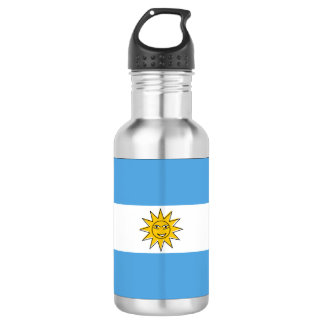 The national flag of Argentina 532 Ml Water Bottle
