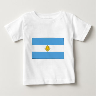 The national flag of Argentina Baby T-Shirt