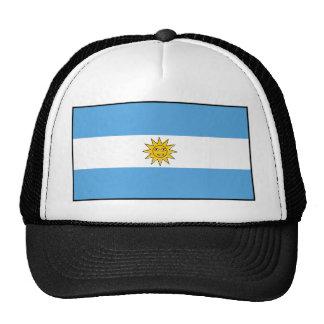The national flag of Argentina Cap