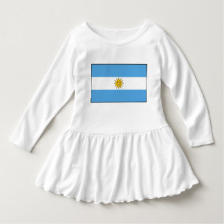 The national flag of Argentina Dress