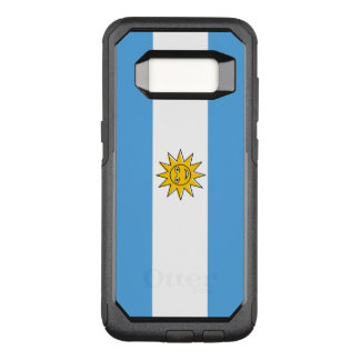 The national flag of Argentina OtterBox Commuter Samsung Galaxy S8 Case