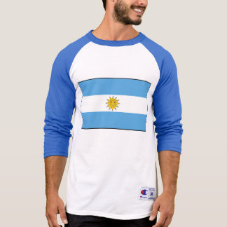 The national flag of Argentina T-Shirt
