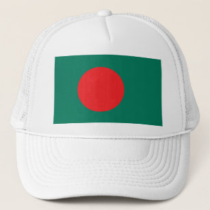 The National Flag of Bangladesh Trucker Hat