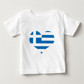 The National flag of Greece Baby T-Shirt