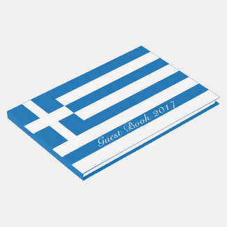 The National flag of Greece Guest Book