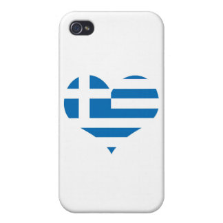 The National flag of Greece iPhone 4/4S Cases