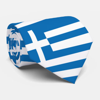 The National flag of Greece Tie