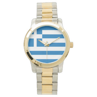 The National flag of Greece Wrist Watches