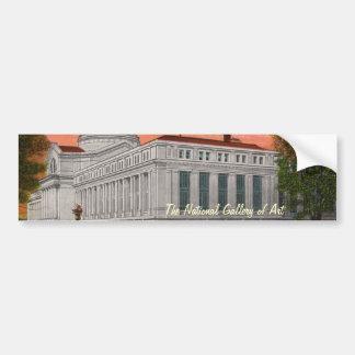 The National Gallery of Art Bumper Sticker