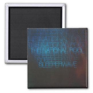 """The National Pool - """"Sleeperwave"""" Magnet"""