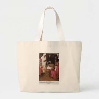 the natitivity large tote bag
