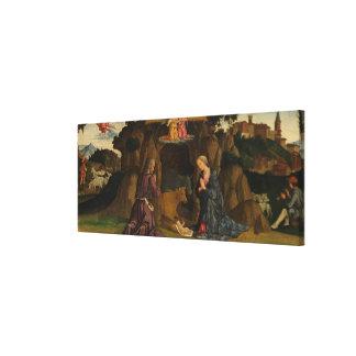 The Nativity, 1480s Canvas Print