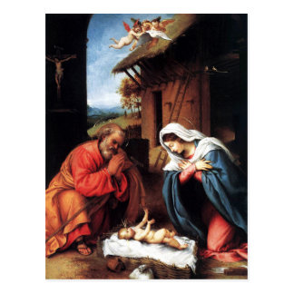 The Nativity by Lotto Postcard