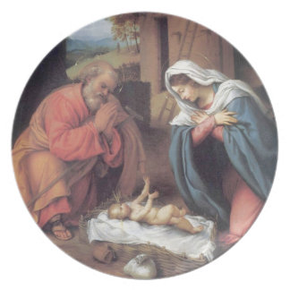 The Nativity Plate