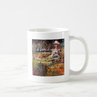 The nature in Monet's art. Coffee Mug