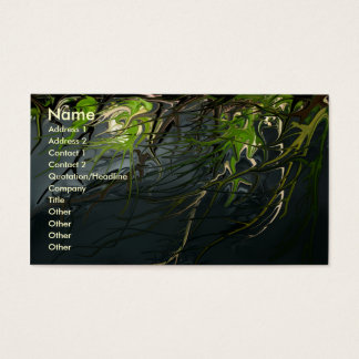 The Nature of Night business card