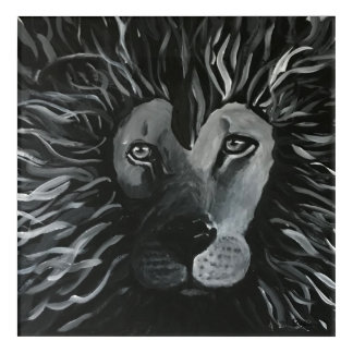 The Nature of the Lion Acrylic Wall Art