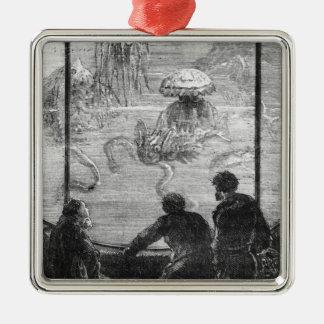 The Nautilus Passengers Metal Ornament
