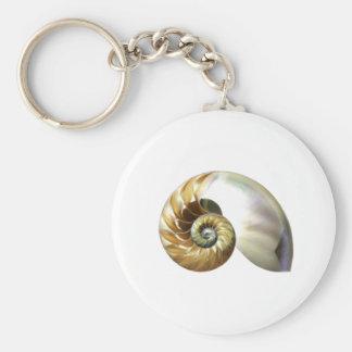 The Nautilus Shell Keychain