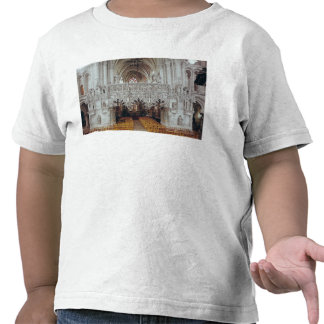 The Nave and Interior of Eglise Tee Shirt