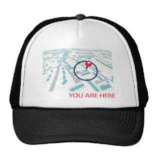 THE NAVIGATOR  - YOU ARE HERE CAP