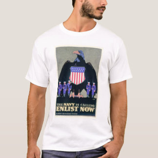The Navy is Calling - Enlist Now (US02291A) T-Shirt
