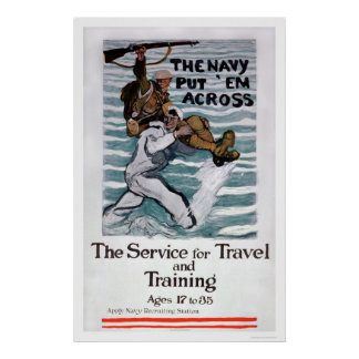 The Navy Put 'Em Across (US02295) Poster