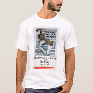 The Navy Put 'Em Across (US02295) T-Shirt