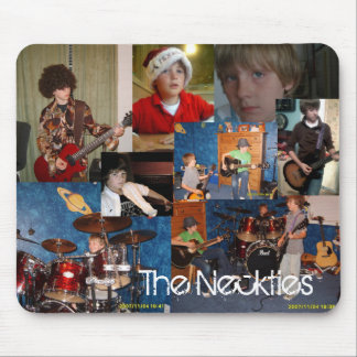 The Neckties Collage Mousepad