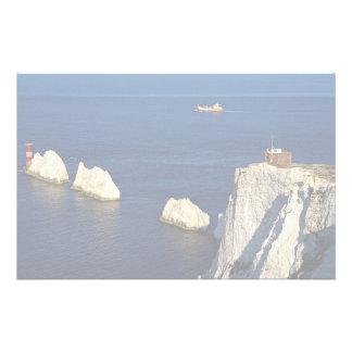 The Needles and lighthouse, Isle of Wight, U.K. Stationery