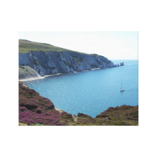 The Needles, Isle of Wight Postcard Canvas Print