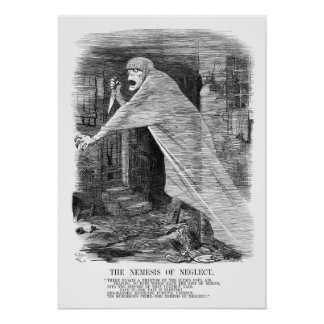 The Nemesis of Neglect - Jack the Ripper Poster