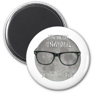 The Nerds Universal Survival Guide 6 Cm Round Magnet