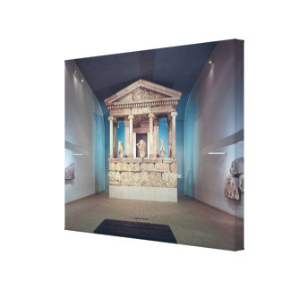 The Nereid Monument, Xanthos, c.390-380 BC Gallery Wrapped Canvas