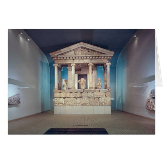 The Nereid Monument, Xanthos, c.390-380 BC Greeting Card