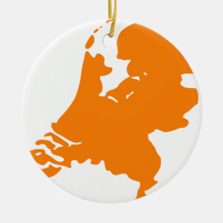 The Netherlands Ceramic Ornament