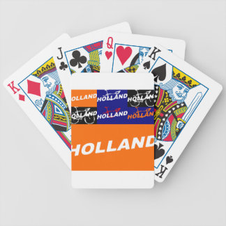 The Netherlands Cycling Bicycle Playing Cards