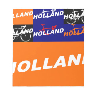 The Netherlands Cycling Notepad
